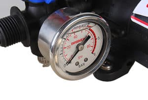 Pulvérisateur Quad : manomètre de pression