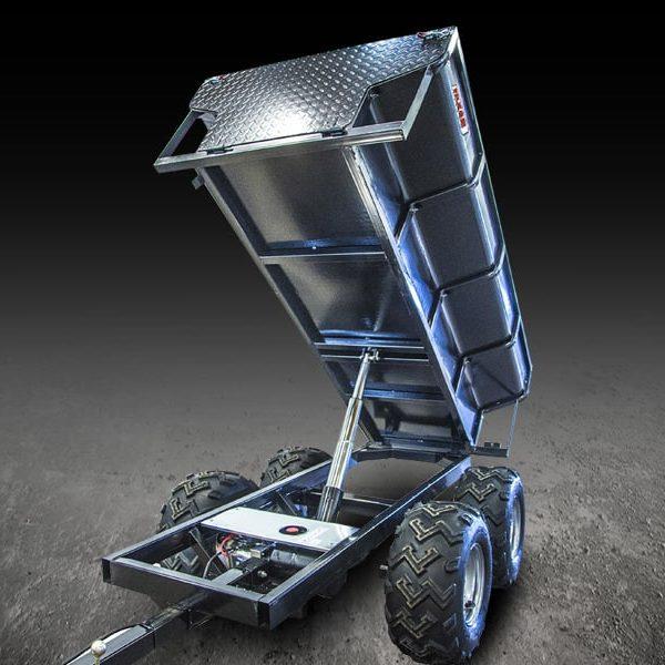 Remorque hydraulique quad