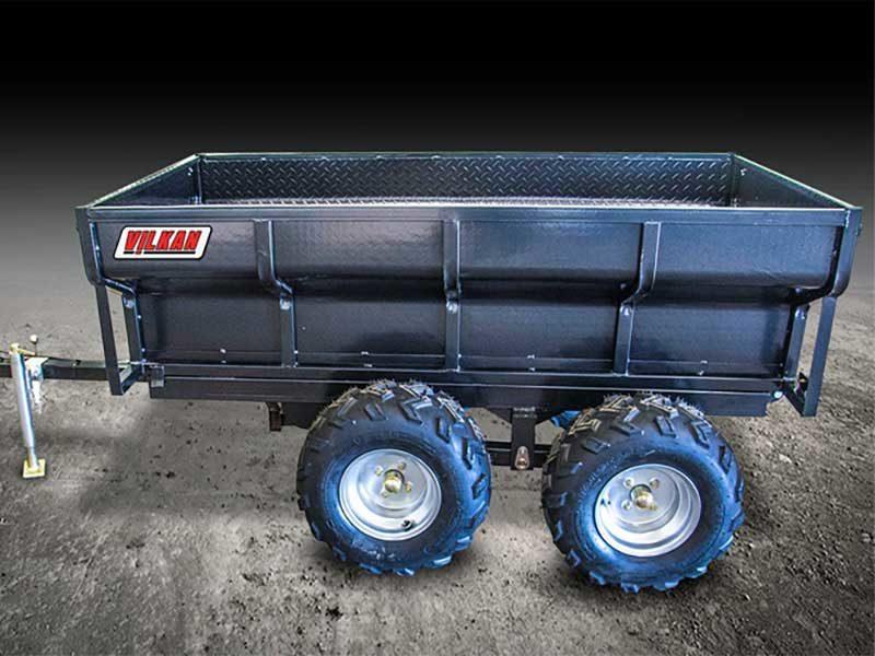 remorque hydraulique agricole quad RABDH