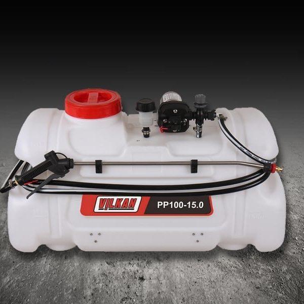 Pulvérisateur quad – 100 L – Pompe 15 L/mn