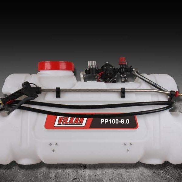 Pulvérisateur quad – 100 L – Pompe: 8 L/mn