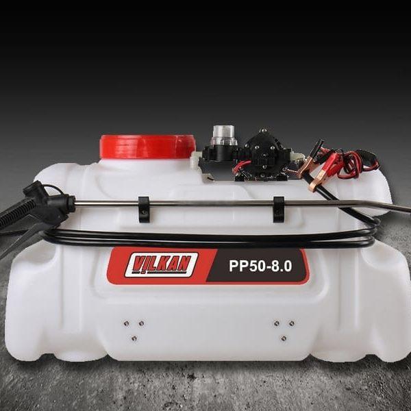 Pulvérisateur quad – 50 L – Pompe: 8 L/mn