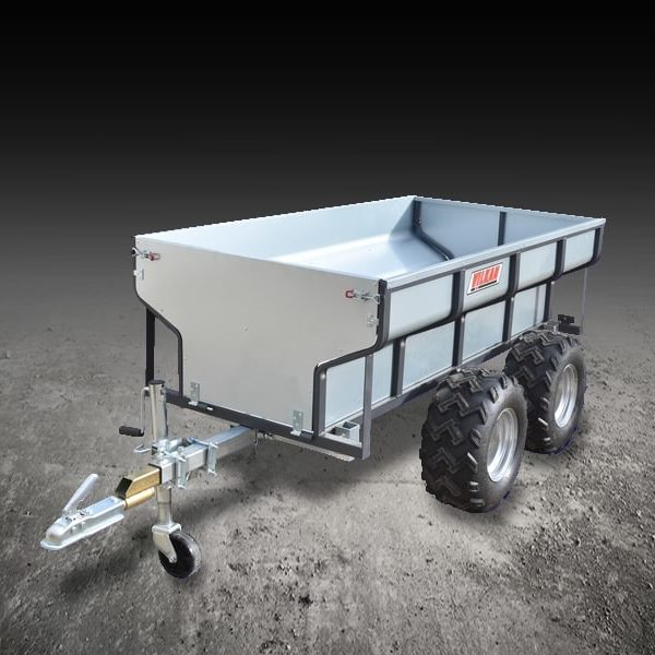 Remorque Agricole Quad – Capacité : 1 000 kg