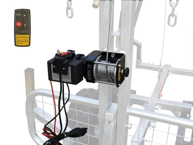 Treuil Electrique 3000 Lbs Remorque RABD VILKAN 1